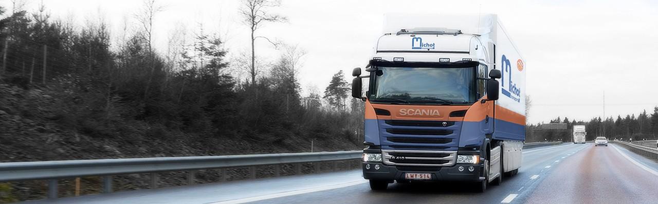 Transport Logistique Belgique, Luxembourg, Pays-Bas, palettes, colis